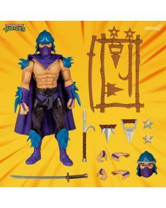 Les Tortues ninja figurine Ultimates Evil Shredder 18 cm --- EMBALLAGE ENDOMMAGE
