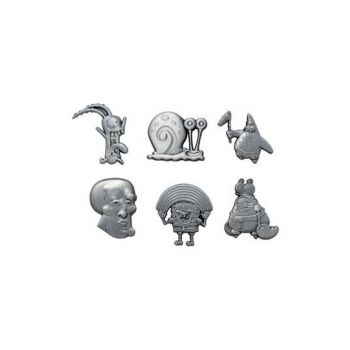 Bob l´éponge pack 6 pin's Limited Edition