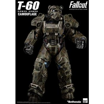 Fallout figurine 1/6 T-60 Camouflage Power Armor 37 cm