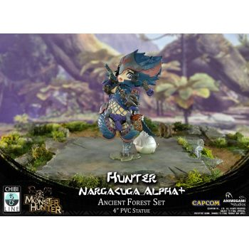 Monster Hunter statuette PVC Nargacuga Alpha+ 10 cm