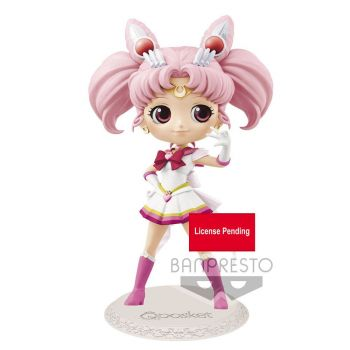 Sailor Moon Eternal The Movie figurine Q Posket Super Sailor Chibi Moon Ver. A 14 cm
