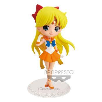 Sailor Moon Eternal The Movie figurine Q Posket Super Sailor Venus Ver. A 14 cm