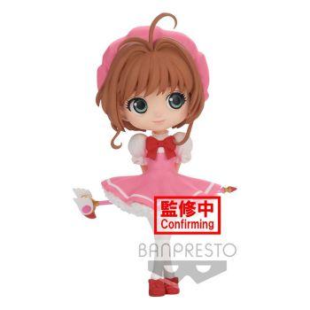 Cardcaptor Sakura Clow Card figurine Q Posket Sakura Kinomoto Ver. A 14 cm