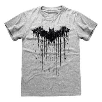 DC Batman T-Shirt Dripping Logo