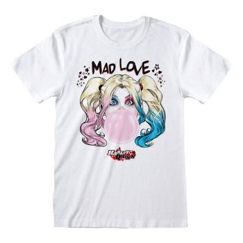 DC Batman T-Shirt Harley Quinn Mad Love