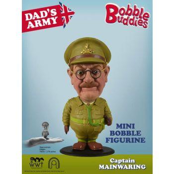 Dad's Army Bobble Head Captain Mainwaring 7 cm