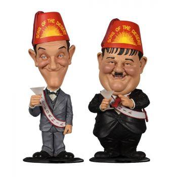 Laurel et Hardy pack 2 Bobble Head Mini Sons of the Desert 8 cm