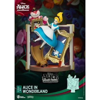Disney diorama PVC D-Stage Story Book Series Alice in Wonderland 15 cm