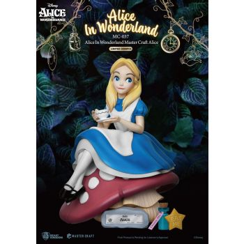 Alice au pays des merveilles statuette Master Craft Alice 36 cm