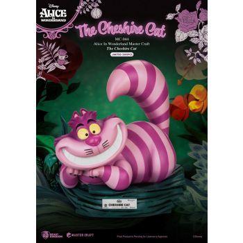 Alice au pays des merveilles statuette Master Craft The Cheshire Cat 36 cm