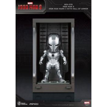 Iron Man 3 Mini Egg Attack figurine Hall of Armor Iron Man Mark II 8 cm