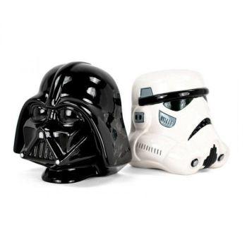 Star Wars serre-livres Stormtrooper and Vader 15 cm
