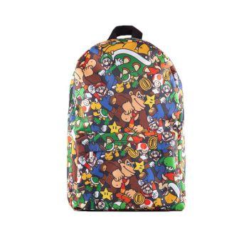 Nintendo sac à dos Super Mario Characters AOP