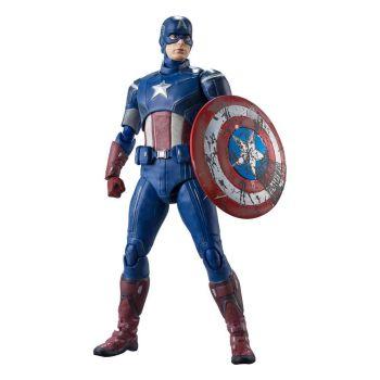 Avengers figurine S.H. Figuarts Captain America (Avengers Assemble Edition) 15 cm