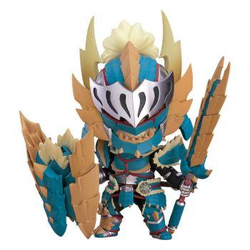 Monster Hunter World Iceborne figurine Nendoroid Hunter: Male Zinogre Alpha Armor 10 cm