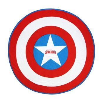 Marvel serviette de bain Captain America 140 cm