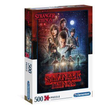 Stranger Things puzzle Saison 1 (500 pièces)