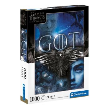 Game of Thrones puzzle Three-Eyed Raven (1000 pièces)