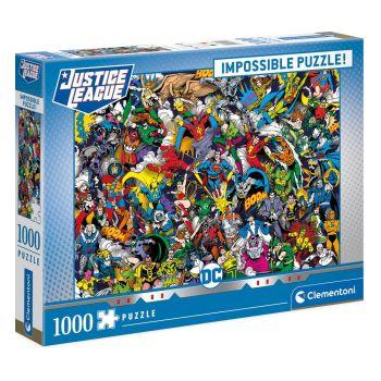 DC Comics Impossible puzzle Justice League (1000 pièces)