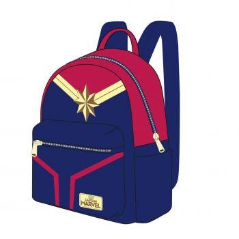 Captain Marvel sac à dos Casual Fashion Suit 22 x 23 x 11 cm