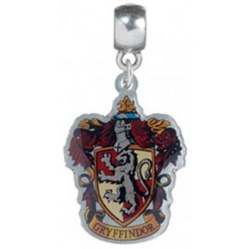 Harry Potter breloque plaqué argent Gryffindor Crest