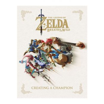 Legend of Zelda Breath of the Wild Art book Creating A Champion *ANGLAIS*