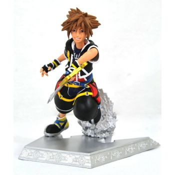 Kingdom Hearts Gallery statuette Sora 18 cm --- EMBALLAGE ENDOMMAGE
