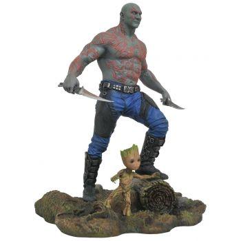 Les Gardiens de la Galaxie Vol. 2 Marvel Gallery statuette Drax & Baby Groot 25 cm