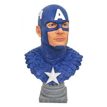 Marvel Comics Legends in 3D buste 1/2 Captain America 25 cm