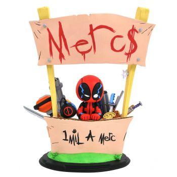 Marvel Animated statuette Deadpool Merc For Hire 20 cm