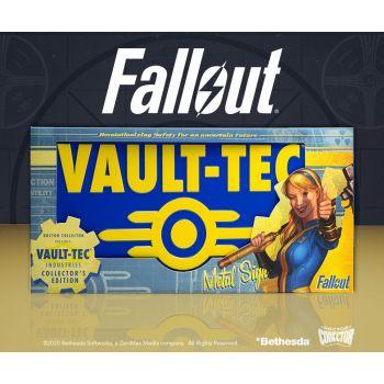 Fallout panneau métal Vaul-Tec