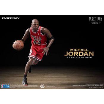 NBA Collection figurine Motion Masterpiece 1/9 Michael Jordan 23 cm