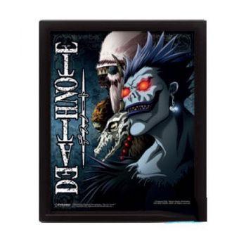Death Note pack posters effet 3D encadré Shinigami 26 x 20 cm (3)