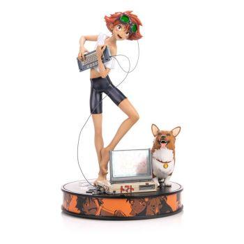Cowboy Bebop statuette 1/4 Ed & Ein 44 cm