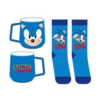 Sonic the Hedgehog mug et chaussettes Set Sonic