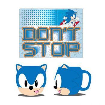 Sonic the Hedgehog mug et puzzle Set Sonic