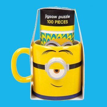 Minions mug et puzzle Set Stuart & Dave