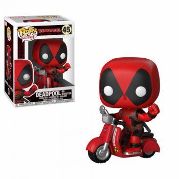Deadpool POP! Rides Vinyl figurine Deadpool & Scooter 9 cm