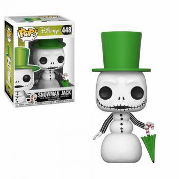 L´étrange Noël de Mr. Jack Figurine POP! Movies Vinyl Snowman Jack 9 cm