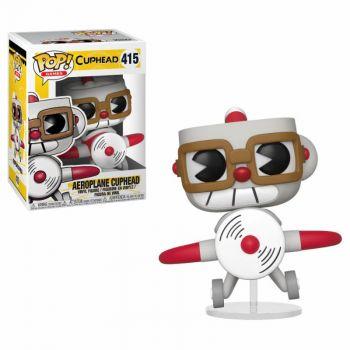 Cuphead POP! Games Vinyl figurine Aeroplane Cuphead 9 cm