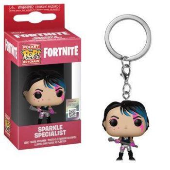 Fortnite porte-clés Pocket POP! Vinyl Sparkle Specialist 4 cm