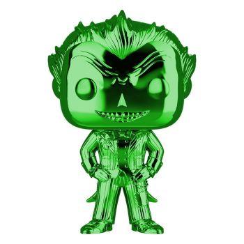 DC POP! Marvel Vinyl figurine The Joker (Green Chrome) 9 cm