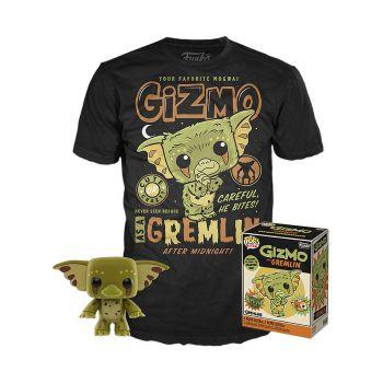 Gremlins POP! & Tee set figurine et T-Shirt Gizmo heo Exclusive