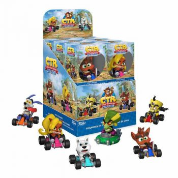 Crash Bandicoot présentoir figurines Mini Vinyl 6 cm (12)