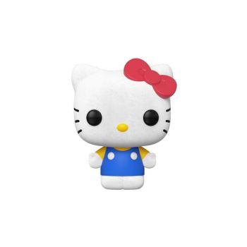 Hello Kitty Figurine POP! Sanrio Vinyl Hello Kitty Classic (Flocked) 9 cm