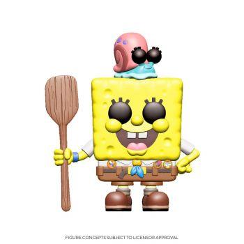 Bob l´éponge 2020 POP! Vinyl figurine SpongeBob Camping Gear 9 cm