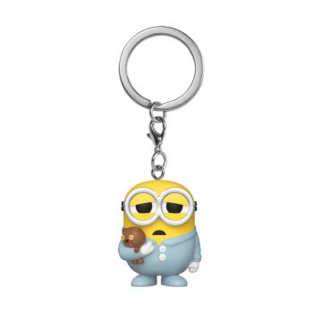 Minions II porte-clés Pocket POP! Vinyl Pajama Bob 4 cm