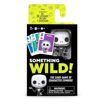 L'Étrange Noël de monsieur Jack carton de 4 jeux de cartes Something Wild! *ANGLAIS*