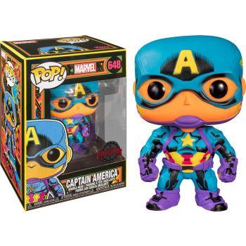 Marvel POP! Marvel Black Light Vinyl figurine Captain America 9 cm