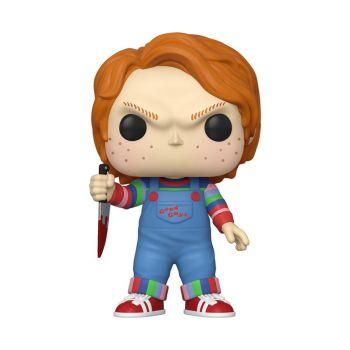 Chucky Jeu d´enfant Super Sized POP! Movies figurine Chucky 25 cm
